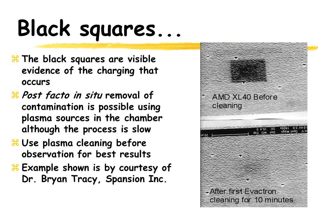 Black squares...