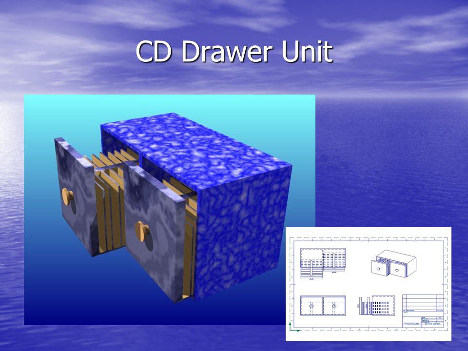 CD Drawer Unit