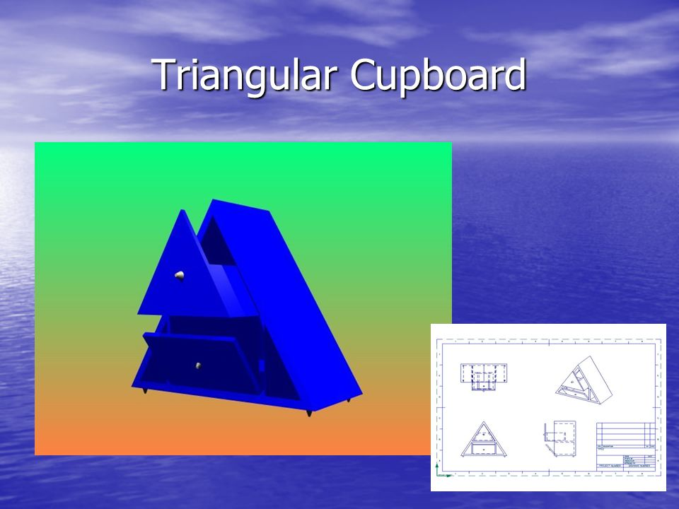 Triangular Cupboard