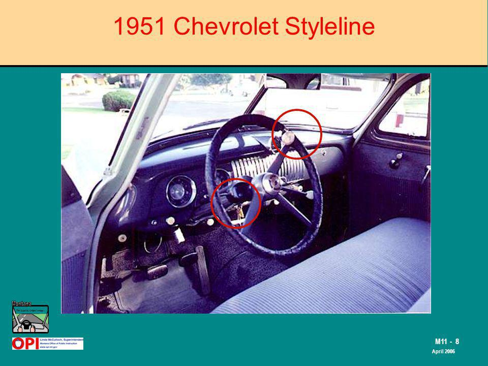 The Road to Skilled Driving M11 - 8 April 2006 1951 Chevrolet Styleline