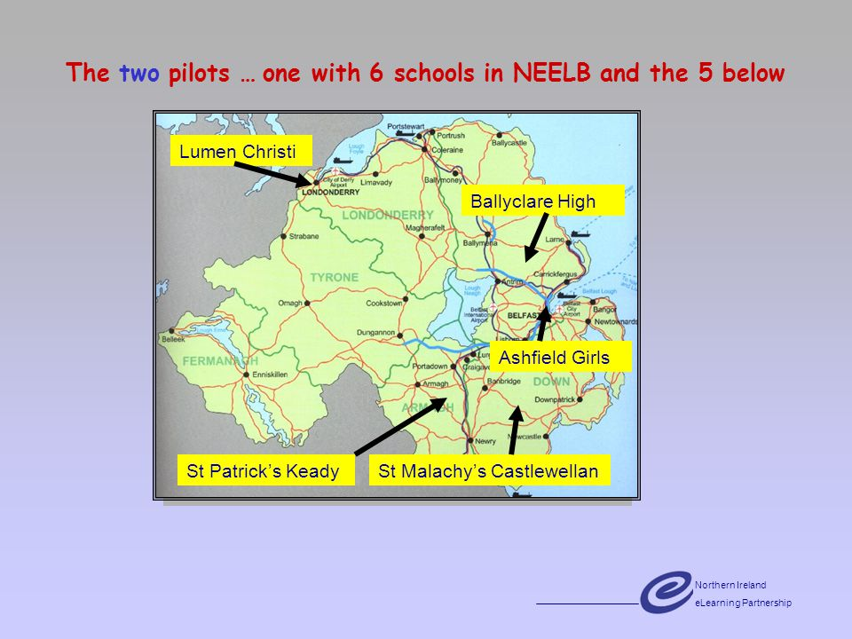 Northern Ireland eLearning Partnership Factors influencing effective elearning Course design, planning and preparation Project management and coordination Learning materials Technological requirements Access and accessibility Effective online teaching and mentoring Prepared online learners Learner assessment Course evaluation