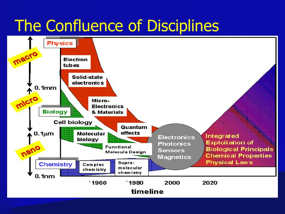 The Confluence of Disciplines