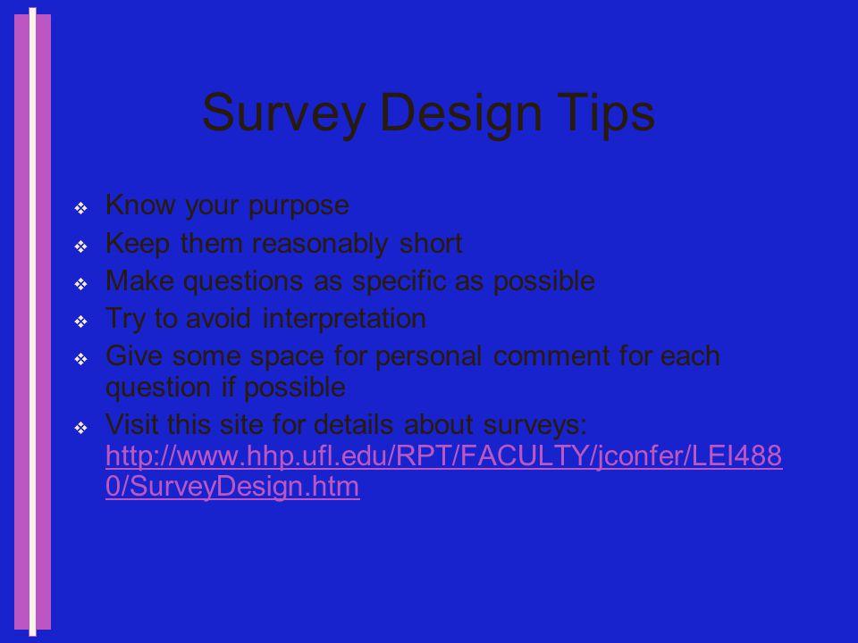 Survey Websites http://www.edmin.com/ http://ichat.edmin.com/surveyRegister.cfm?sc=5A F47F73-6687-11D5-8813009027D22F1C http://ichat.edmin.com/surveyR
