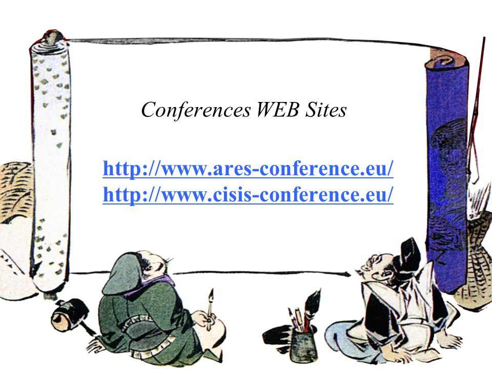 Conferences WEB Sites