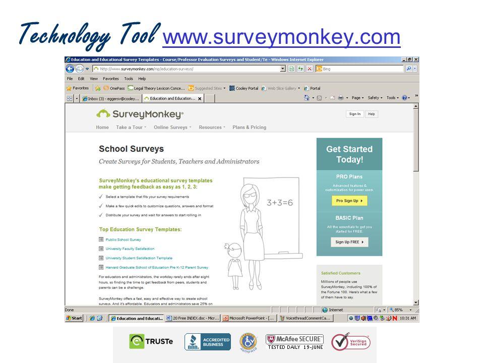 Technology Tool www.surveymonkey.com www.surveymonkey.com