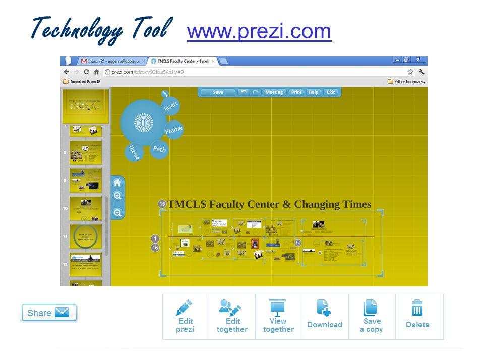 Technology Tool www.prezi.comwww.prezi.com