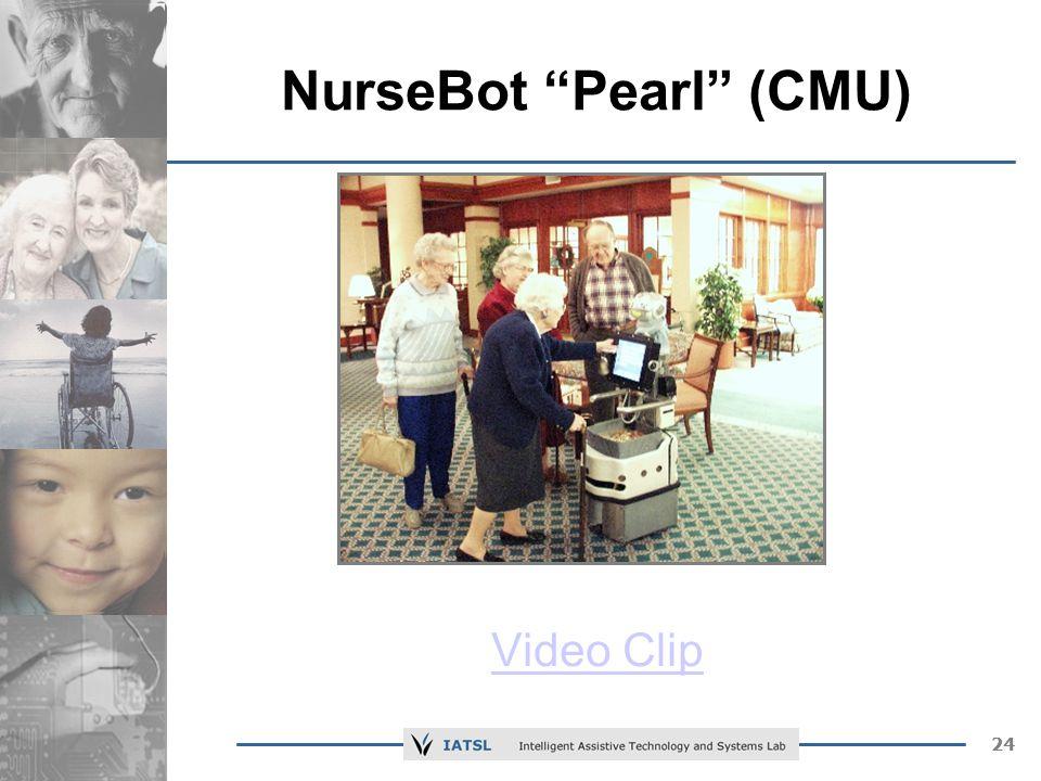 24 NurseBot Pearl (CMU) Video Clip