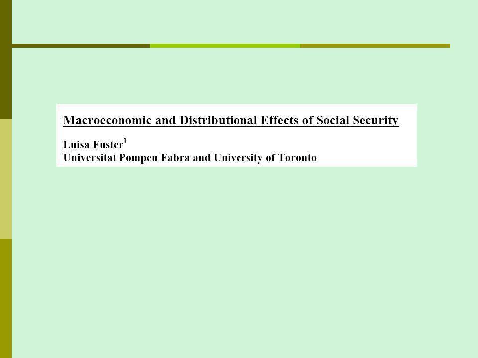 Income uncertainty and SS progressivity