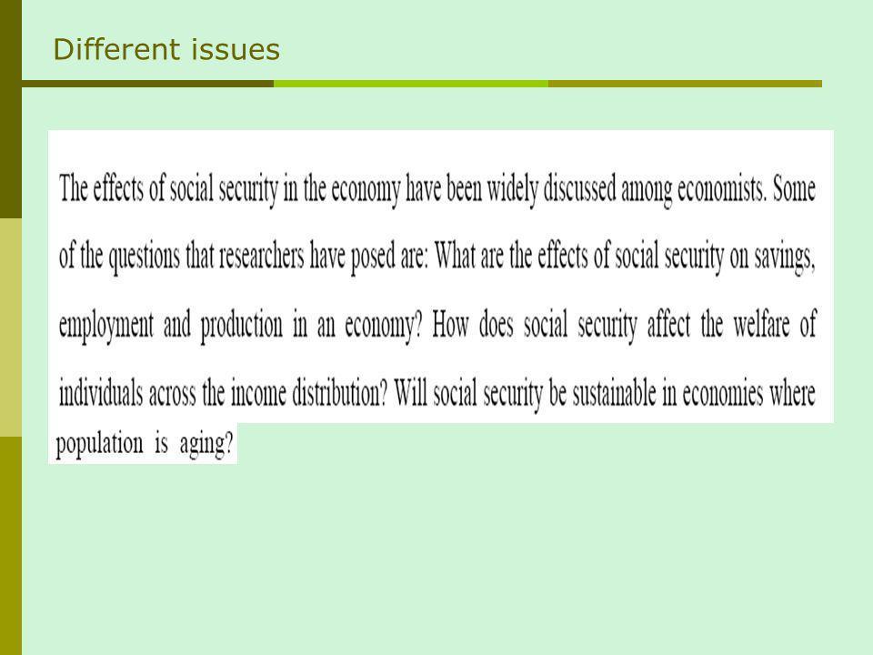 Capital accumulation vs. insurance But