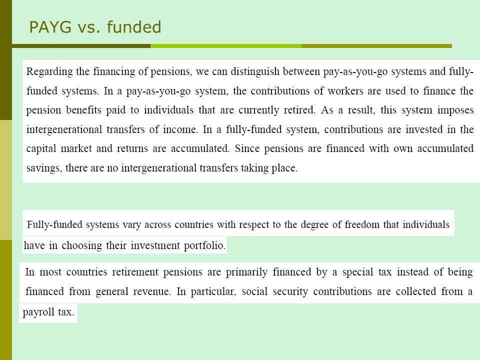Impact on capital accumulation