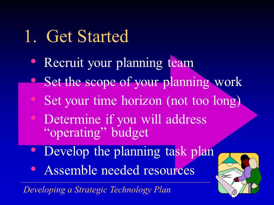 Developing a Strategic Technology Plan 1.