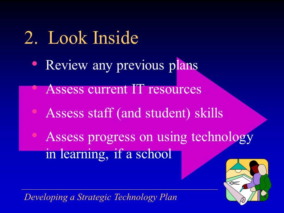 Developing a Strategic Technology Plan 2.