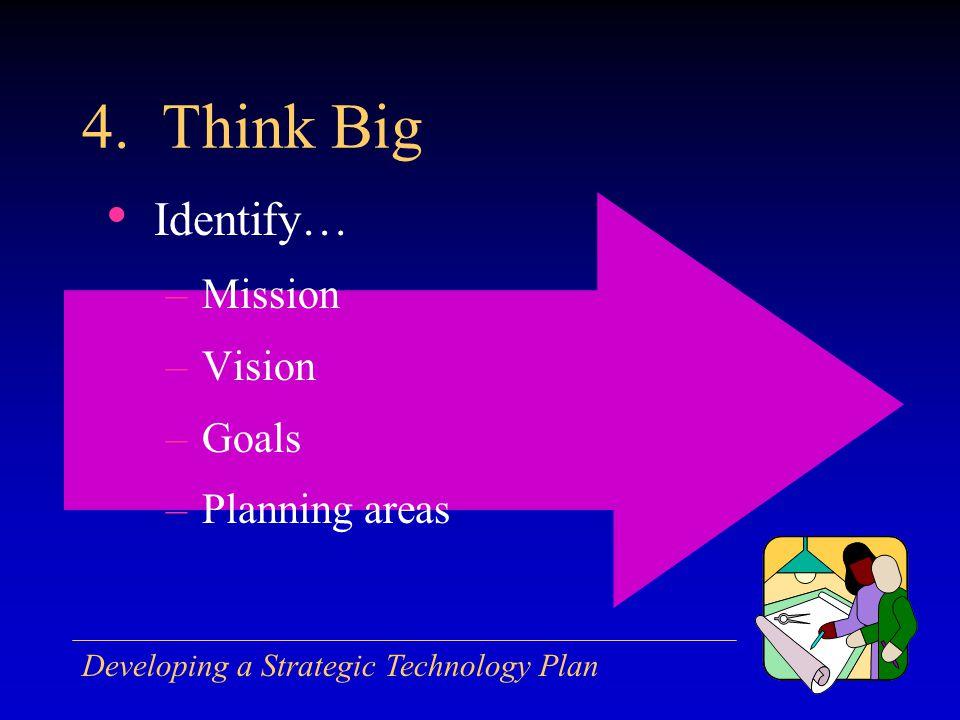 Developing a Strategic Technology Plan 4.