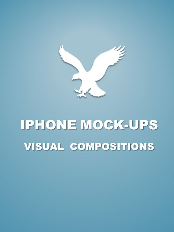 IPHONE MOCK-UPS VISUAL COMPOSITIONS