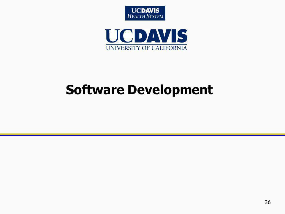 36 Software Development
