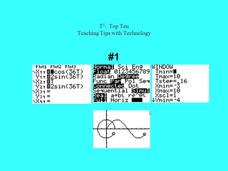 T 5 : Top Ten Teaching Tips with Technology #1