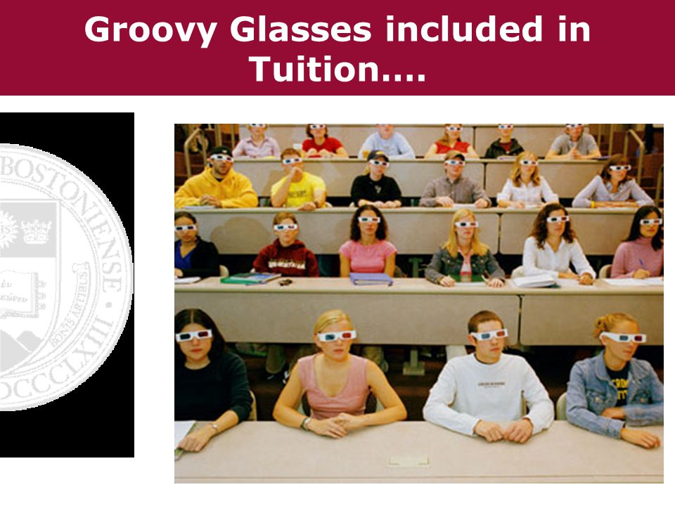 Groovy Glasses included in Tuition….