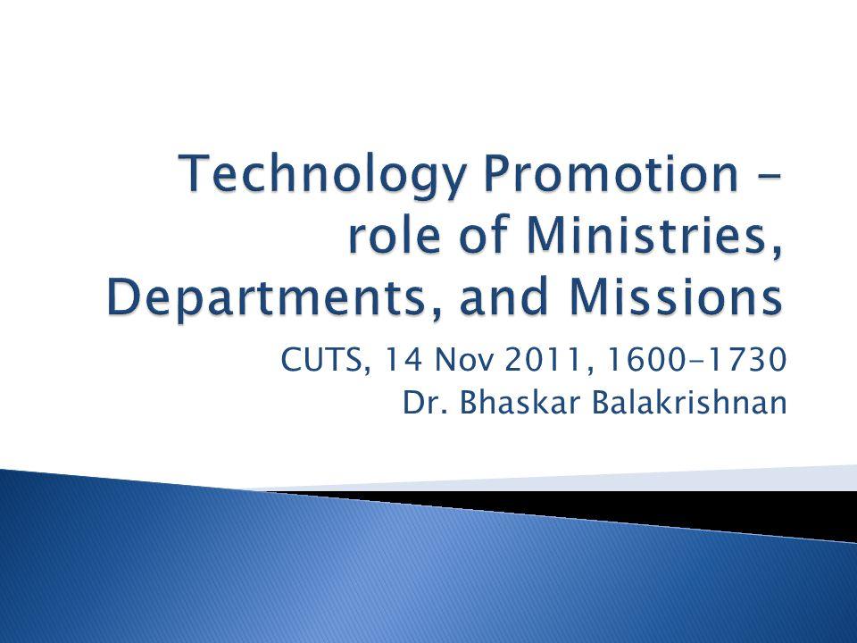 CUTS, 14 Nov 2011, 1600-1730 Dr. Bhaskar Balakrishnan