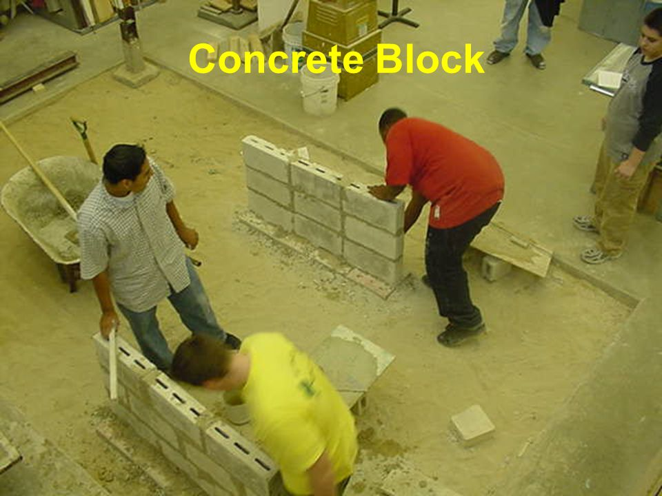 16 Concrete Block