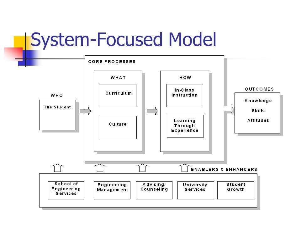 System-Focused Model