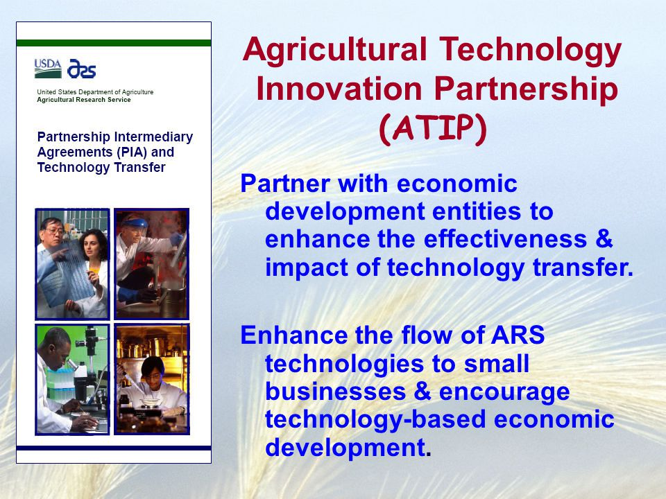Partner with economic development entities to enhance the effectiveness & impact of technology transfer.
