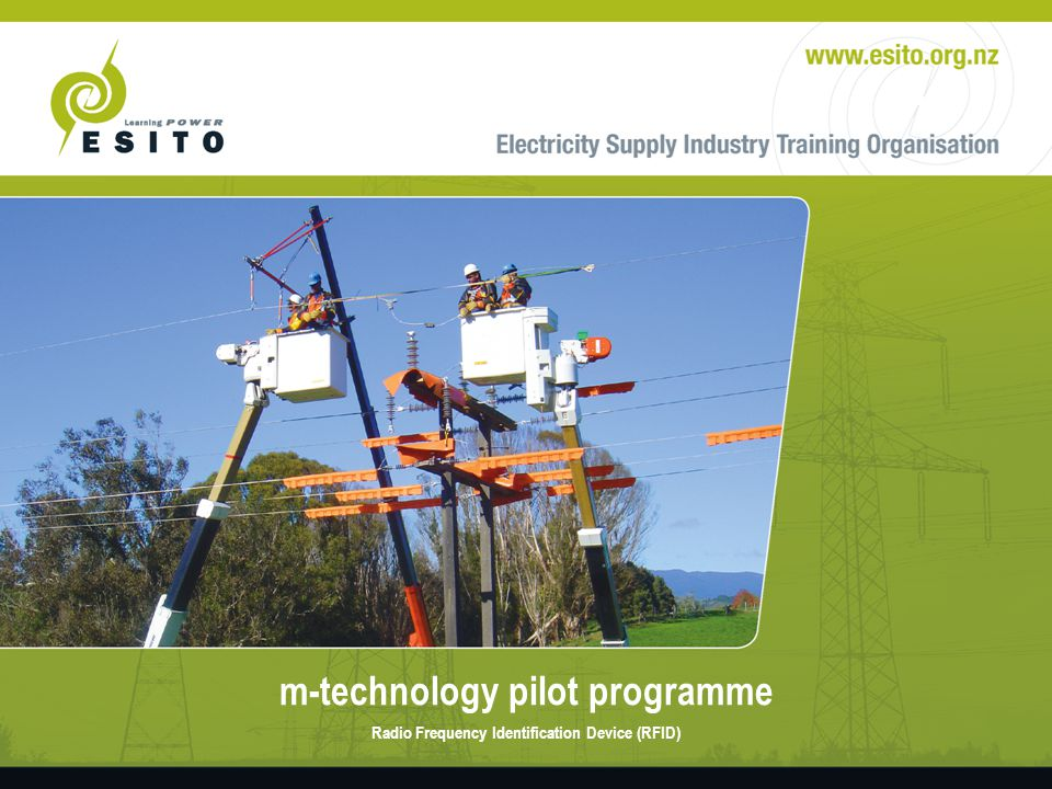 m-technology pilot programme Qualitative evaluation continued – Reasonably positive response – No time issues – Less convenient – Simple learning process – Issues with suitable training, use of equipment and technical issues.