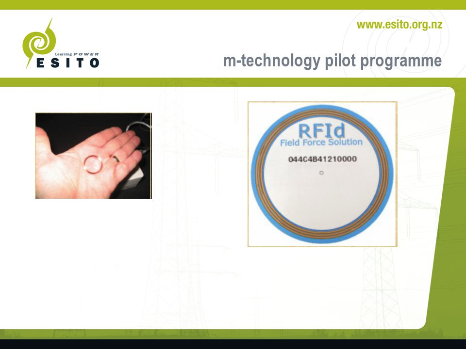 m-technology pilot programme Web2sms interface – Health and safety sign off – Safe entry – Identification management – Workplace updates – Literacy Language and Numeracy options