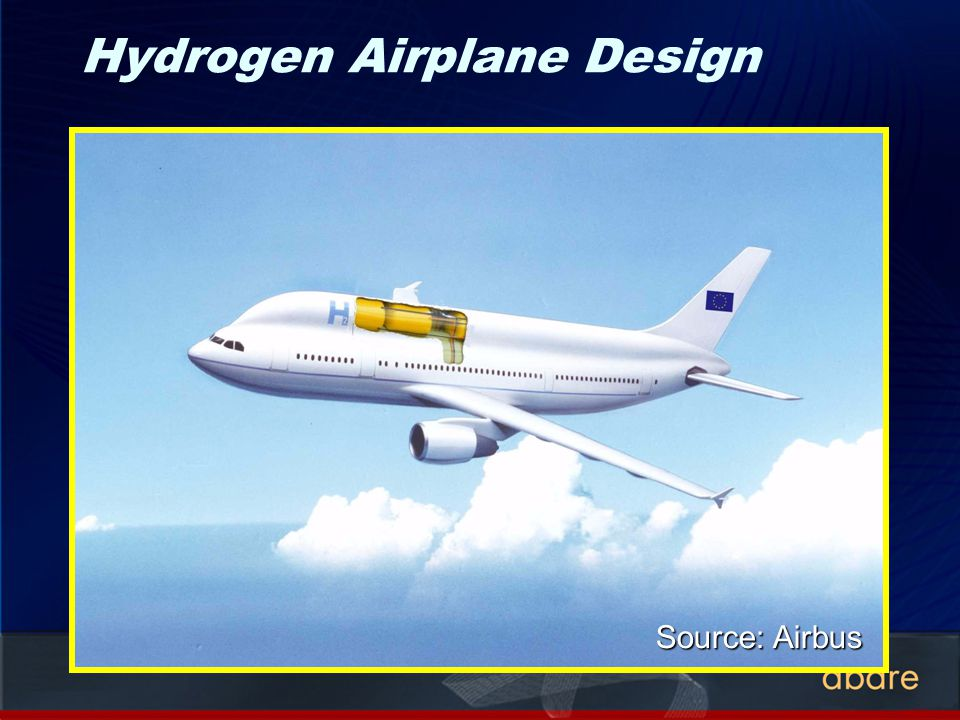 Hydrogen Airplane Design Source: Airbus