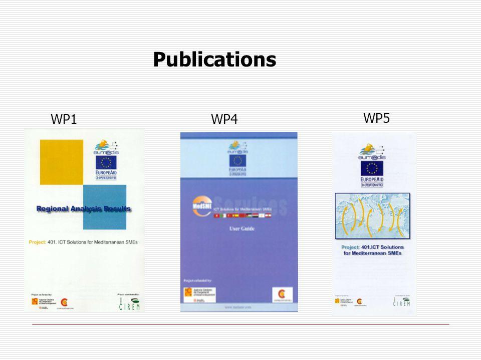 Publications WP1WP4 WP5