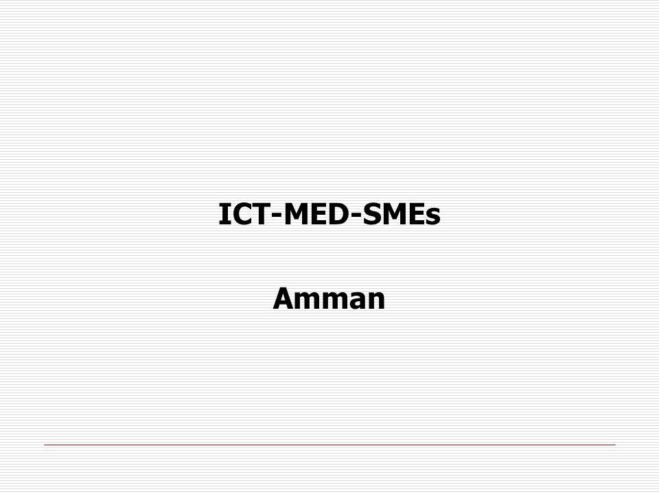 ICT-MED-SMEs Amman