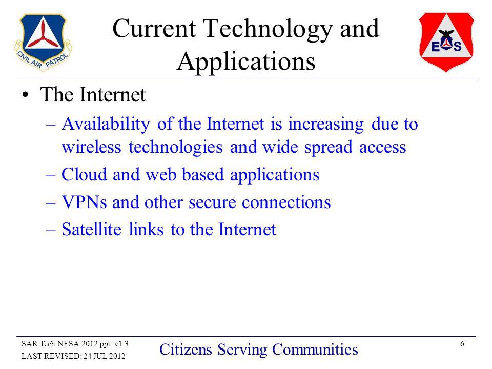 27SAR.Tech.NESA.2012.ppt v1.3 LAST REVISED: 24 JUL 2012 Citizens Serving Communities QUESTIONS.