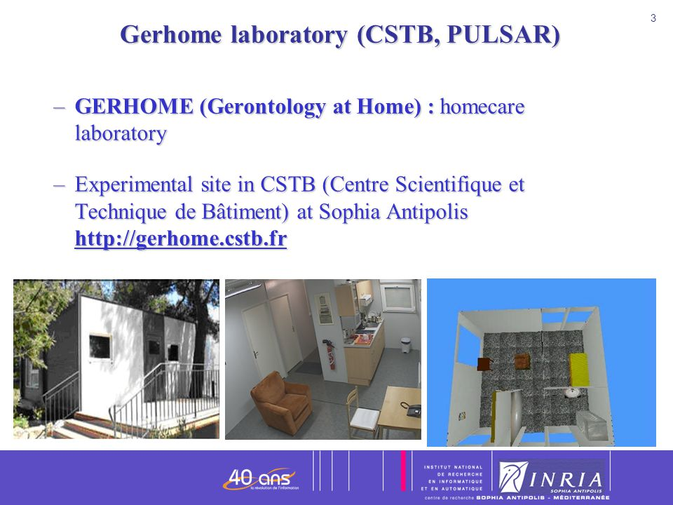 4 4 Position of the sensors in Gerhome laboratory