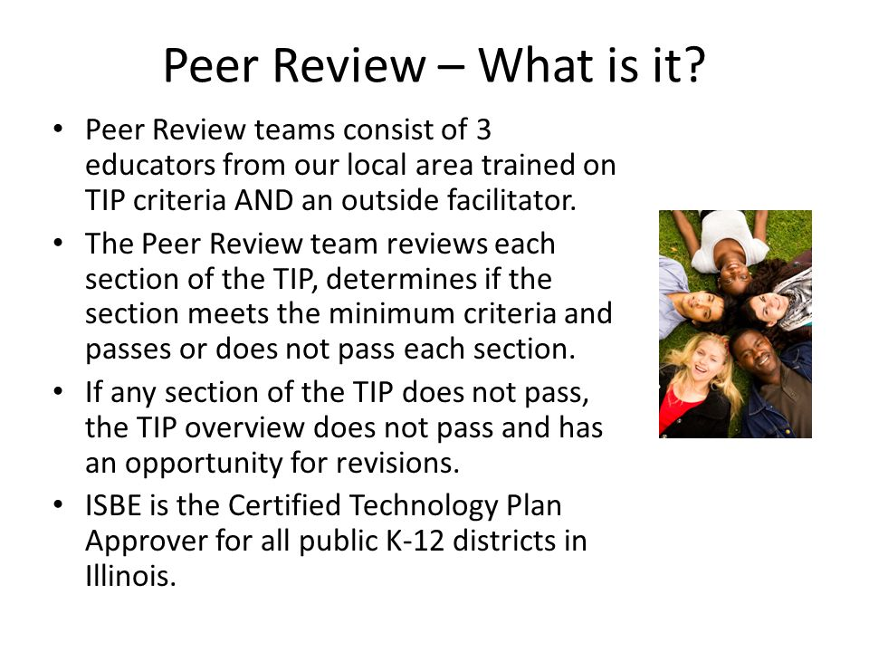 Peer Review – What is it.