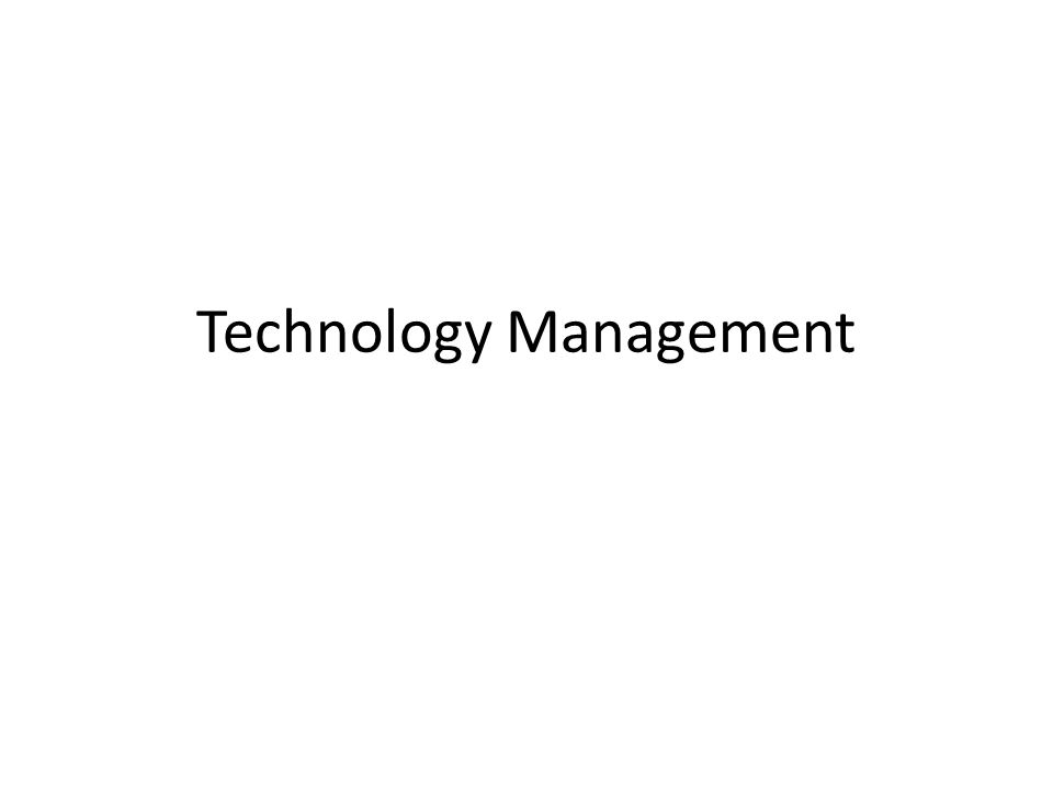 Introduction The word technology comes from two Greek words – Techno The skill or craft needed to make something – Loges Discussion of knowledge of something
