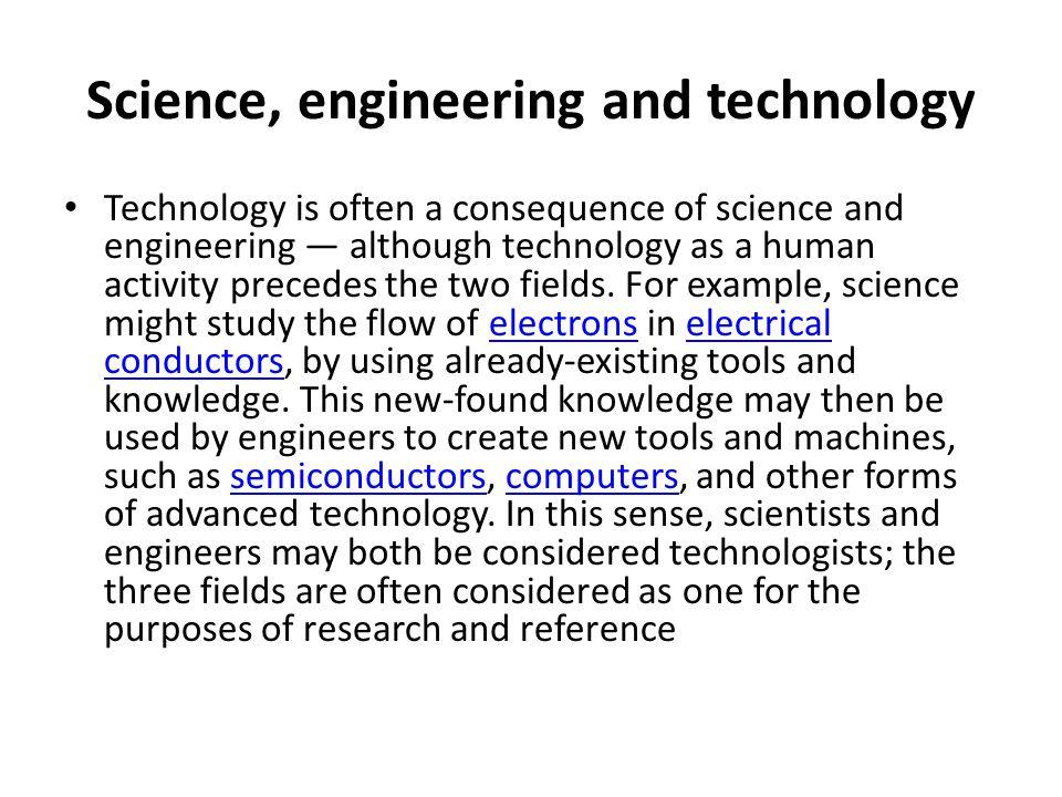 Technology: An Evolution Process