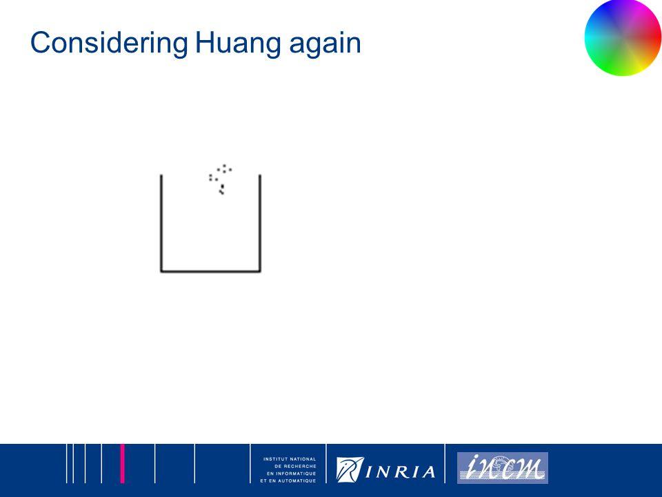 13 Considering Huang again