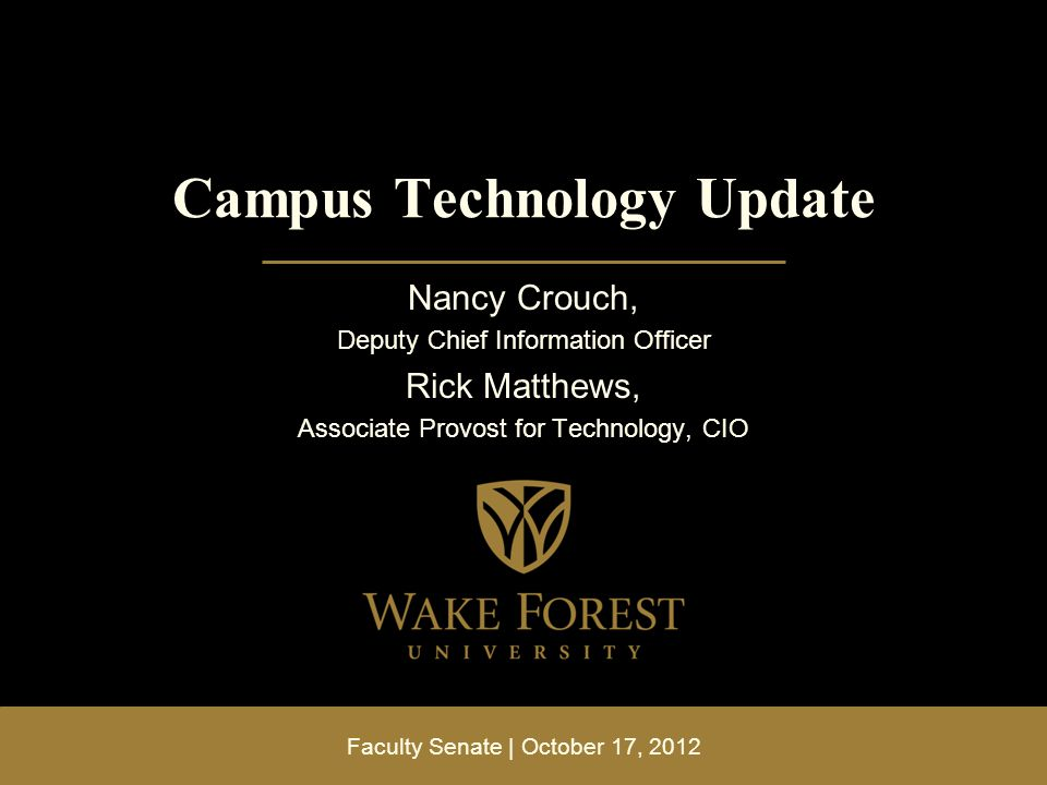 Overview Latest technologies deployed to campus WebEx Google features you may have missed Telepresence Helix video streaming Corel Suite Resources for help learning, using Adobe licensing update Q&A