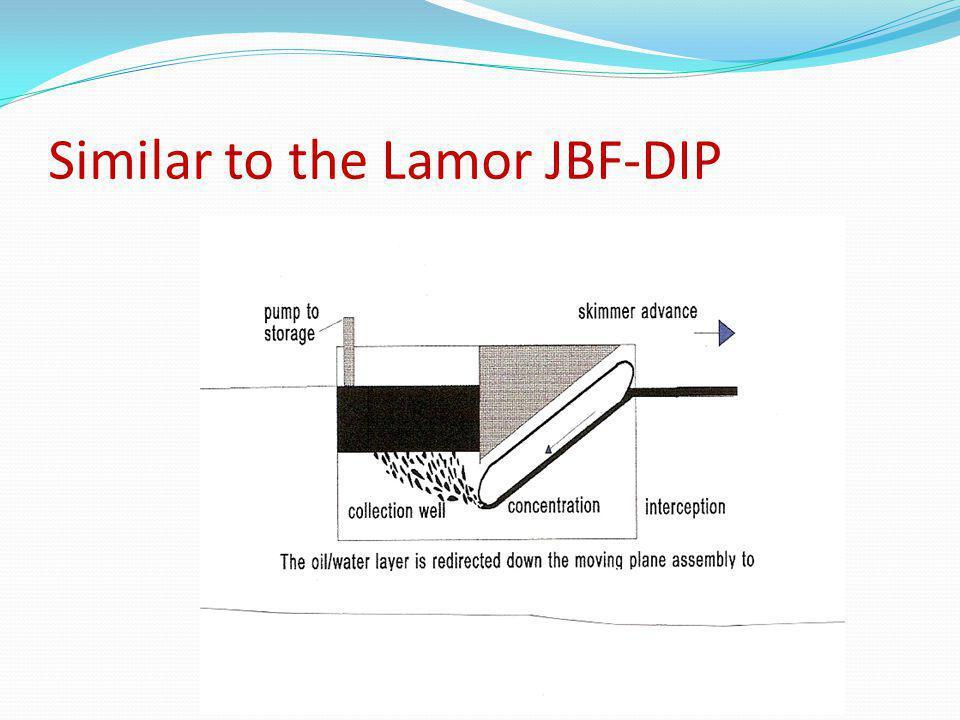 Similar to the Lamor JBF-DIP