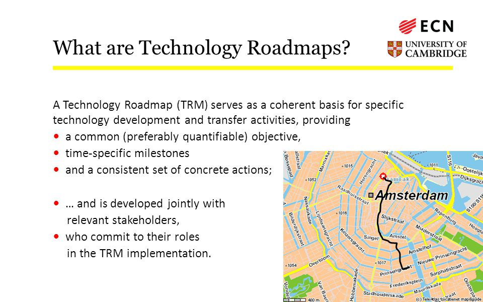 What are Technology Roadmaps.