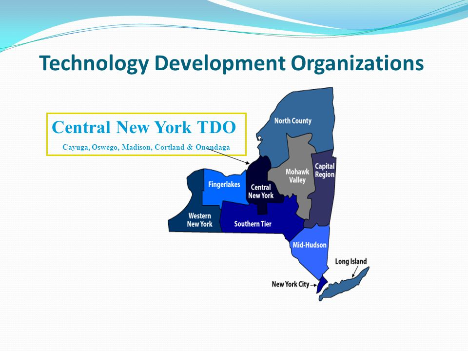 Technology Development Organizations Central New York TDO Cayuga, Oswego, Madison, Cortland & Onondaga
