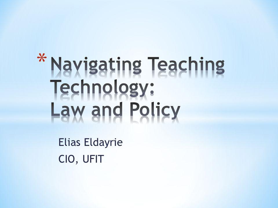 Elias Eldayrie CIO, UFIT