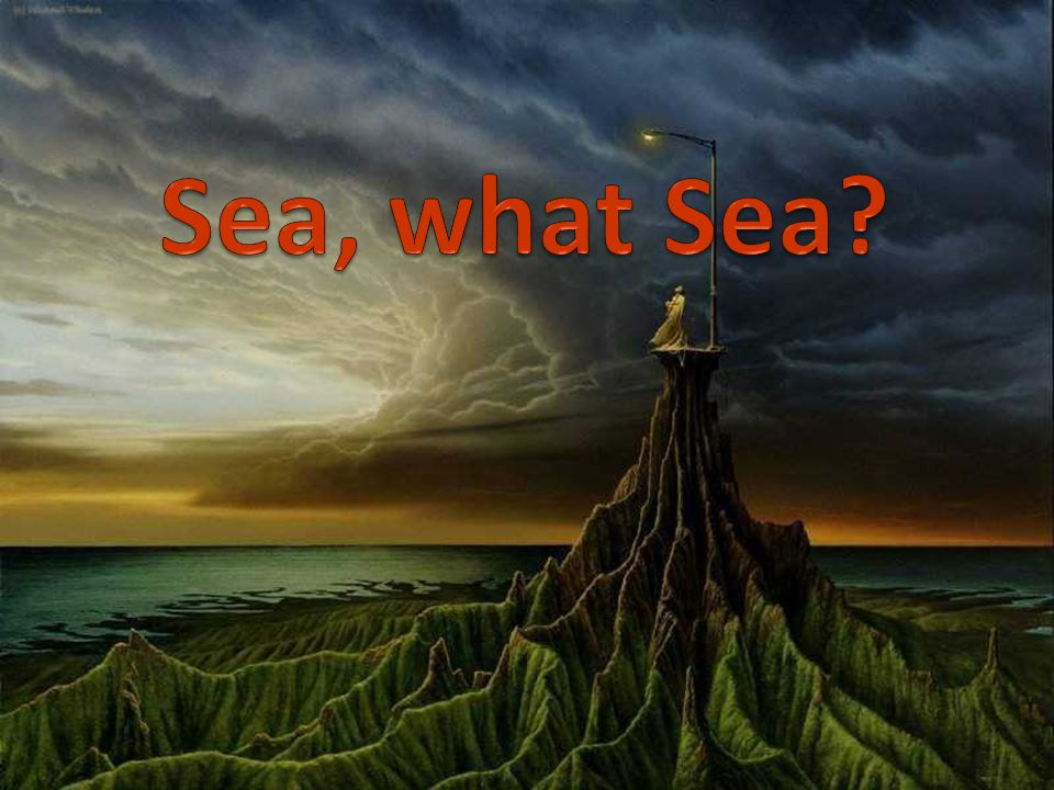 Seas = environmental services Food, Health, Commerce Tourism Biodiversity Environment, protected areas But…
