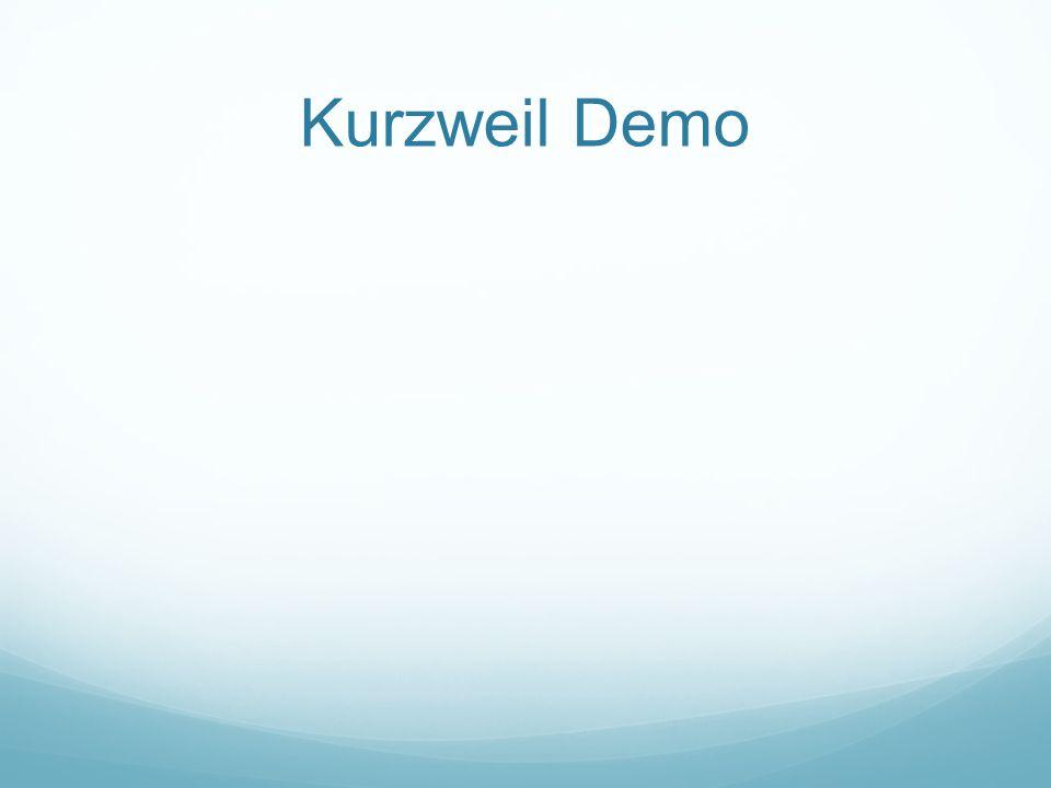 Kurzweil Demo