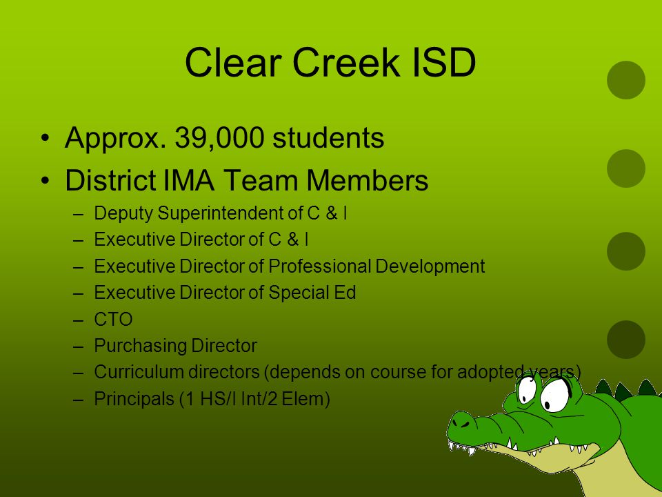 Clear Creek ISD Approx.