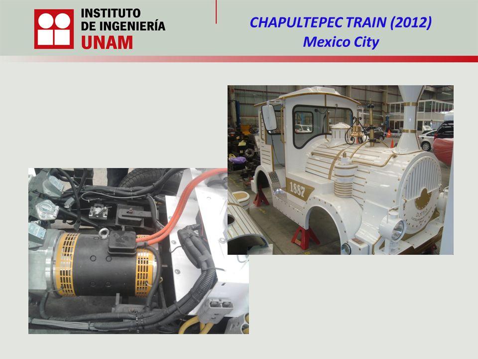 CHAPULTEPEC TRAIN (2012) Mexico City