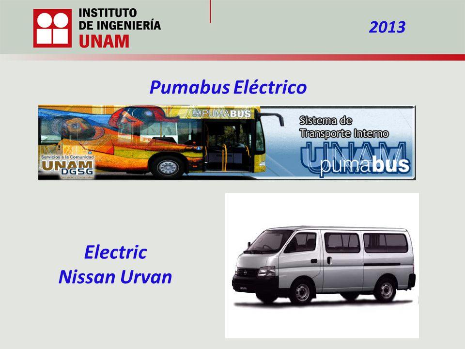 Electric Nissan Urvan 2013 Pumabus Eléctrico