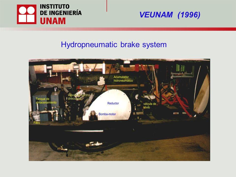 Hydropneumatic brake system