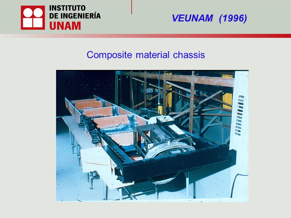 VEUNAM (1996) Composite material chassis