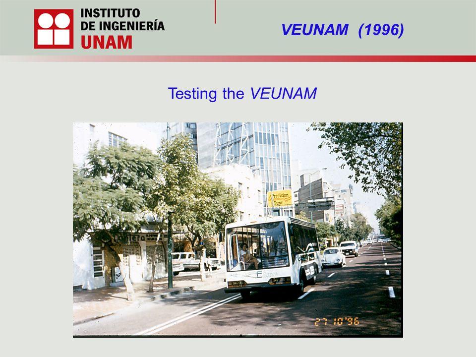 VEUNAM (1996) Testing the VEUNAM