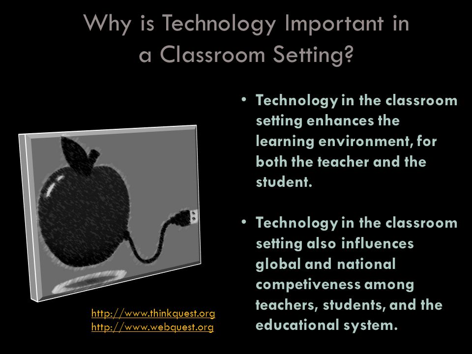 How is the Innovation of Technology Beneficial In a Classroom Setting.